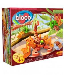 Scorpions et insectes Bloco