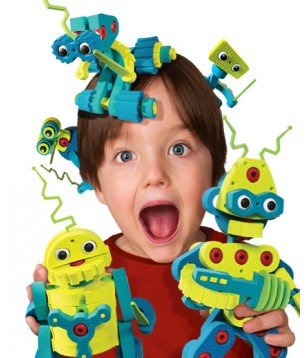 Invasion des Robots Bloco