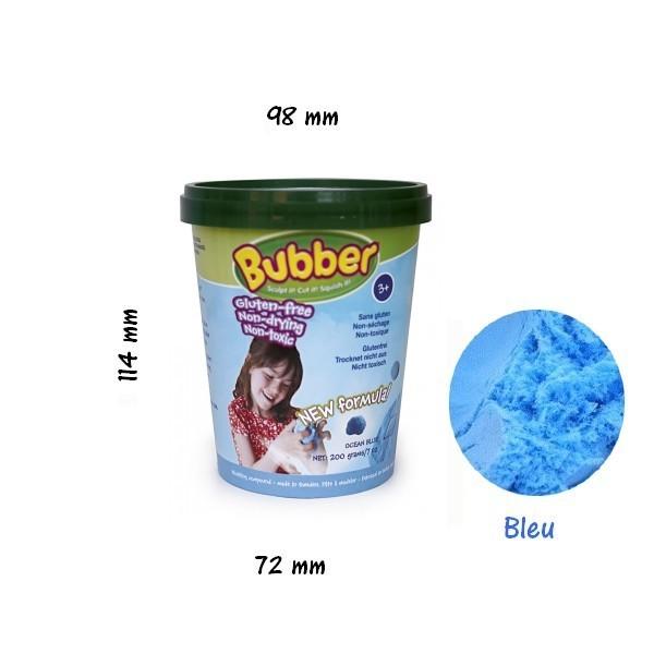 p te modeler bubber bleu 200 g sans gluten rennes. Black Bedroom Furniture Sets. Home Design Ideas