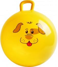 Ballon sauteur Chien Jaune