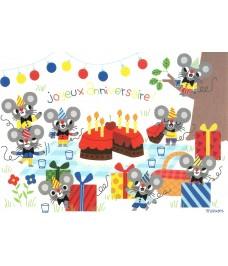 Joyeux Anniversaire des petites souris