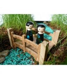 "Mini jardin ""Au bord du Ruisseau"""