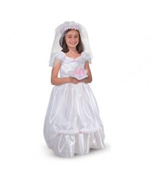 Robe de mariee deguisement fille