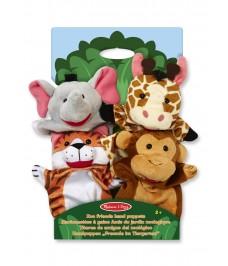 Marionnettes Les Animaux du Zoo