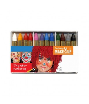 Kit de 12 crayons de maquillage Théâtre