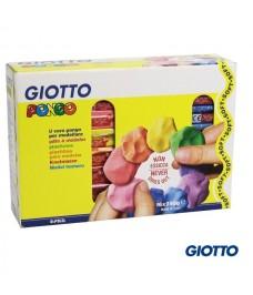 Pâte à modeler Giotto Pongo Soft 16 x 250 G