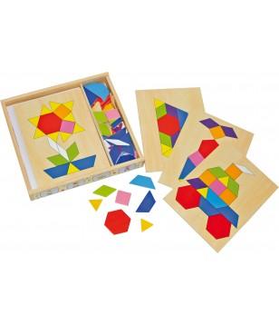 Boîte mosaïque en bois