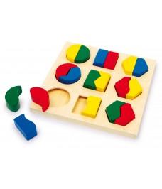 Puzzle à encastrer Les formes par paires