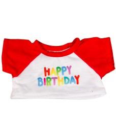 Tee-shirt Happy Birthday 40 cm