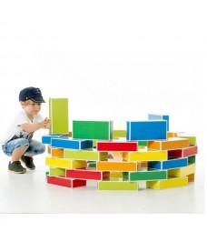 Kit de 48 briques en carton recyclé