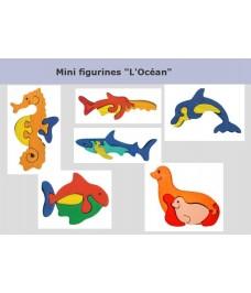 """Lot de mini puzzle """"L'Océan"""""""