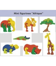 """Lot de mini puzzle """"L'Afrique"""""""