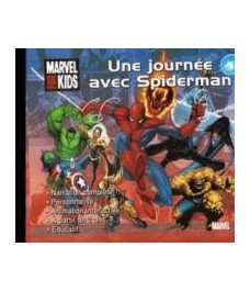 CD-Rom Une journee avec Spiderman