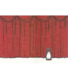 Le rideau rouge - Carte fermée
