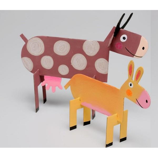Anim 39 odulos de mitik - Pliage serviette animaux ferme ...